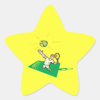 Sky High Star Sticker