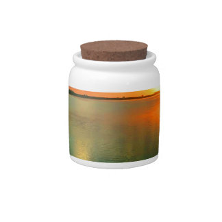 Sky High Sunset Candy Jar