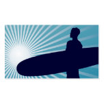 sky high surfing business card