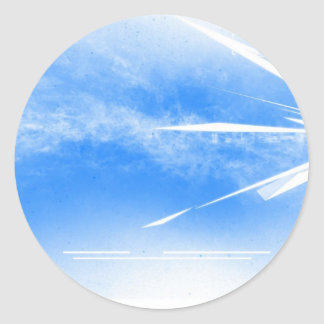 Sky High Systematic Classic Round Sticker