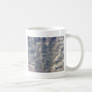 Sky images with ruffled soft clouds coffee mug