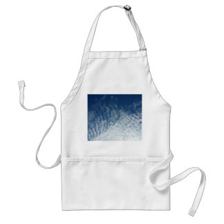 Sky in January Adult Apron