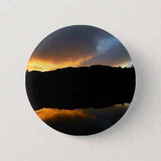 sky in the mirror pinback button