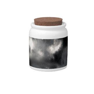 sky is a limit candy jar