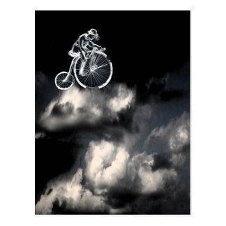 sky is a limit postcard