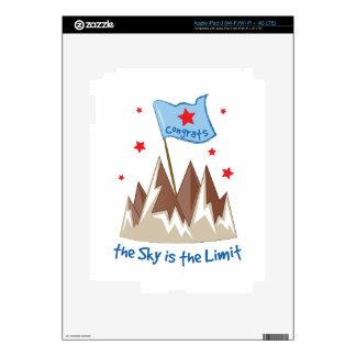 Sky Is Limit Decal For iPad 3