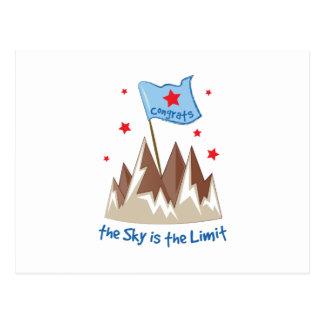 Sky Is Limit Postcard