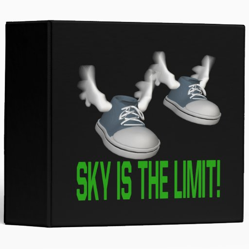 Sky Is The Limit 3 Ring Binders