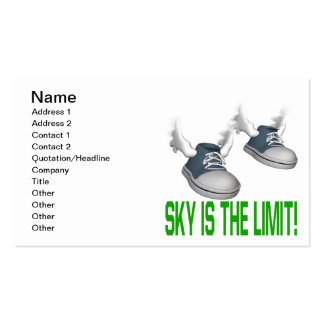 Sky Is The Limit Business Card