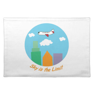 Sky Is The Limit Cloth Placemat