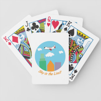 Sky Is The Limit Bicycle Playing Cards