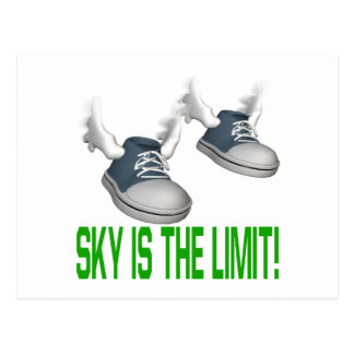 Sky Is The Limit Postcard