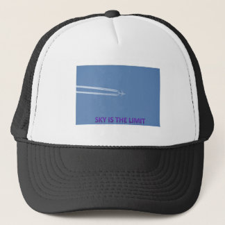 sky is the limit trucker hat