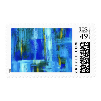 Sky Juice Medium Postage Stamps From Painting
