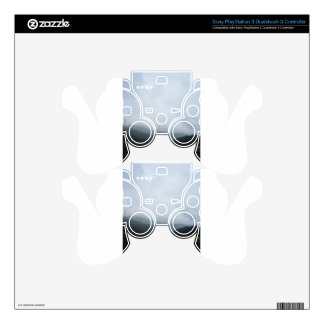 sky land grass tree mountain skin for PS3 controller