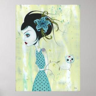Sky Lili Print