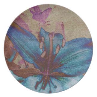 Sky Lily Plate
