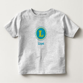 Sky & Lime Monogram L T-Shirt