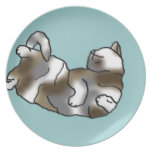 Sky Lounger Party Plate