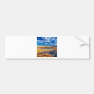 Sky Lower Klamath Lake Nature Car Bumper Sticker