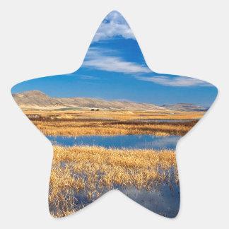 Sky Lower Klamath Lake Nature Star Sticker