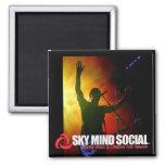 Sky Mind Social Magnet