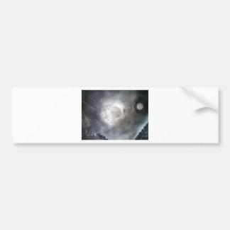 Sky moon bumper sticker