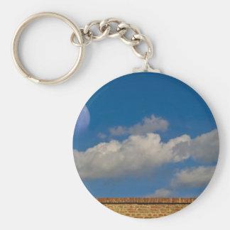 sky, moon, wall keychain