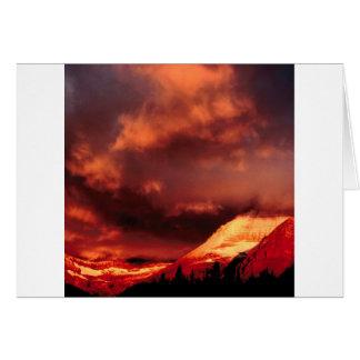 Sky Mount Wilber Glows Card