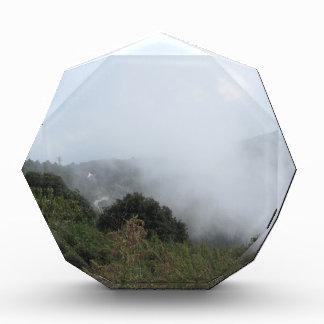 sky mountain grass acrylic award