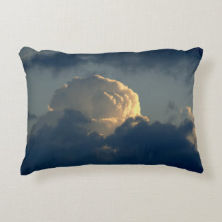Sky Mushroom Accent Pillow