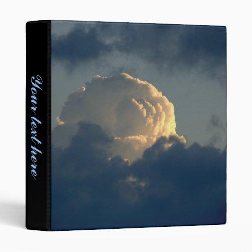 Sky Mushroom Vinyl Binder