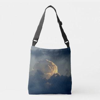 Sky Mushroom Crossbody Bag