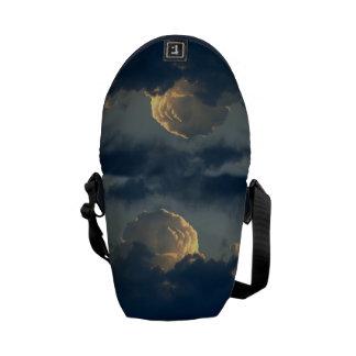 Sky Mushroom Messenger Bag