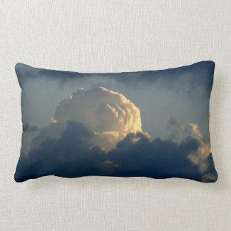 Sky Mushroom Throw Pillows