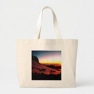 Sky Nido De Condores Aconcagua Argentina Large Tote Bag