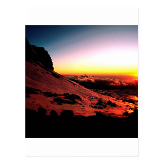Sky Nido De Condores Aconcagua Argentina Postcard