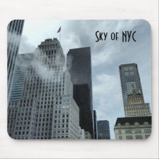 Sky of New York City Mouse Pad