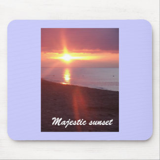 sky on fire at Cavendish, Majestic sunrise Mousepads