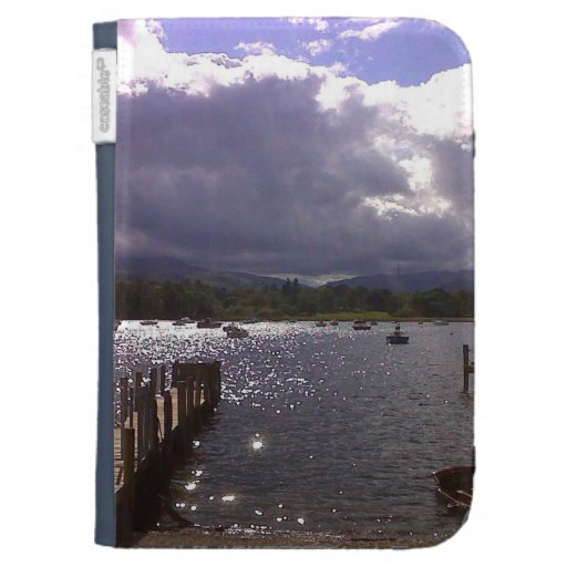 SKY OVER LAKE WINDEMERE,THE LAKE DISTRICT,ENGLAND, KINDLE 3G CASE