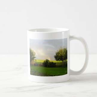Sky over Southern Sweden Classic White Coffee Mug