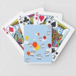 Sky Pandas Poker Cards