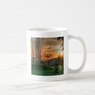 Sky Parkland Night Classic White Coffee Mug