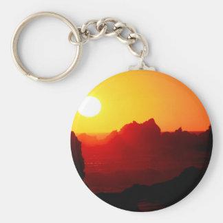 Sky Pfeiffer Beach Big Sur California Key Chain
