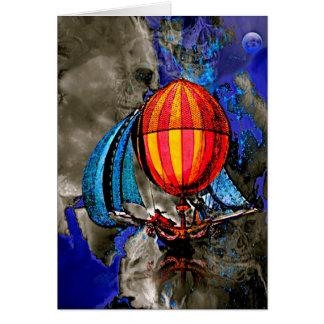 Sky Pirate Greeting Card