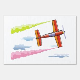 Sky Plane Flying Sign