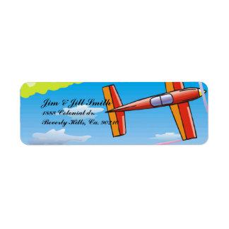 Sky Plane Set Label