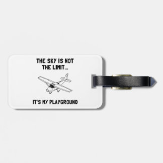 Sky Playground Plane Bag Tag
