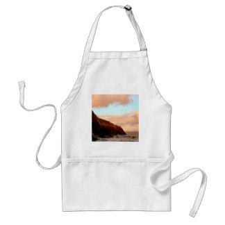 Sky Ragged Cliff Horizon Adult Apron