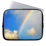Sky, Rainbow and Clouds Electronics Sleeve Laptop Computer Sleeves